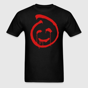 Red John smiley symbol - Men's T-Shirt
