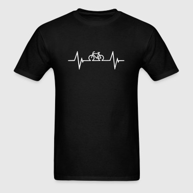 Bicycle Hearbeat - Men's T-Shirt