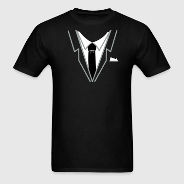fake suit and tie (3c) - Men's T-Shirt