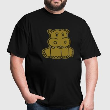 Baby Hippo - Men's T-Shirt