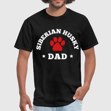 Siberian Husky Dad - Men's T-Shirt