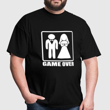 marriage game over - Men's T-Shirt