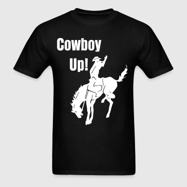 RODEO COWBOY HORSE darr - Men's T-Shirt