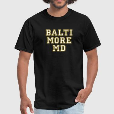 Baltimore MD College Style Design - Men's T-Shirt
