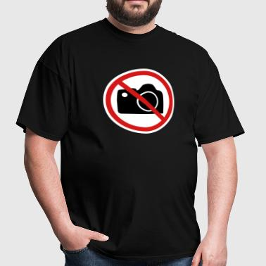 No Pictures No paparazzi - Men's T-Shirt