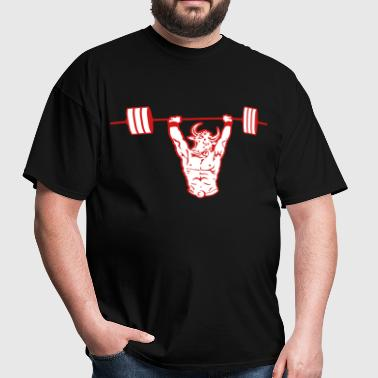 Minotaur Weightlifting  - Men's T-Shirt