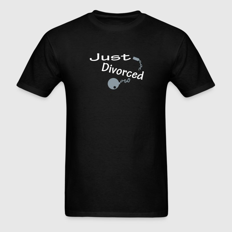 Just Divorced - Men's T-Shirt