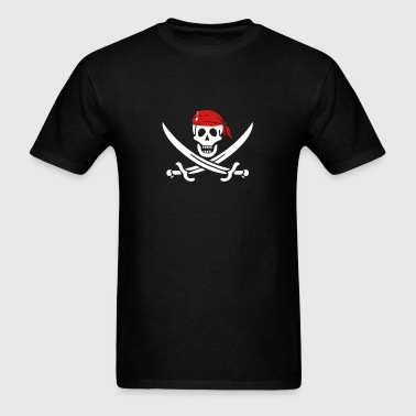 jolly roger pirate swords - Men's T-Shirt
