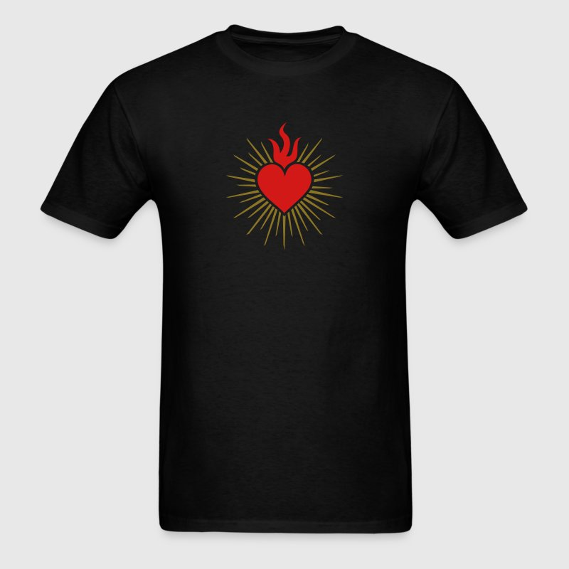 Sacred Heart - High Heart Chakra  - Men's T-Shirt
