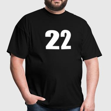 Number Twenty Two - Men's T-Shirt