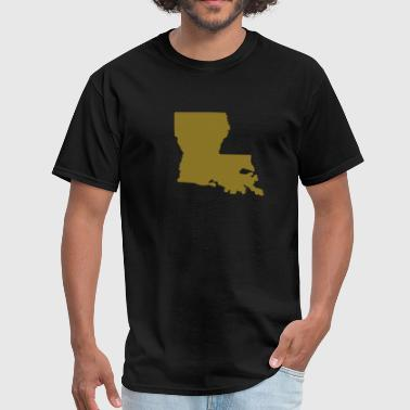 State of Louisiana - Men's T-Shirt