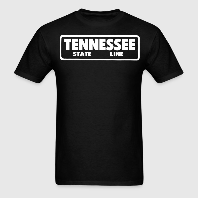 TENNESSEE STATE LINE - Men's T-Shirt