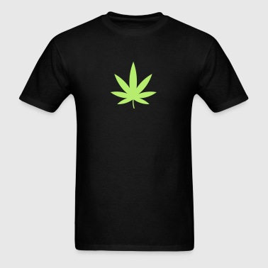 Pot Leaf HD VECTOR - Men's T-Shirt