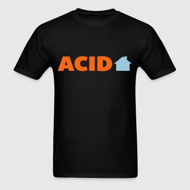 Acid House Music Quote - Men's T-Shirt