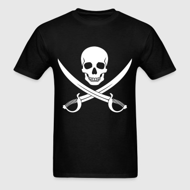 Pirate Skull v2 - Men's T-Shirt