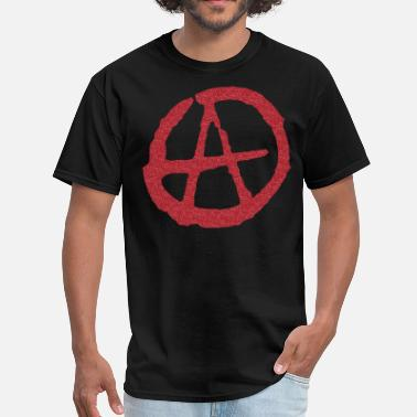 Symbolic Apparel Anarchy Symbol - Men's T-Shirt