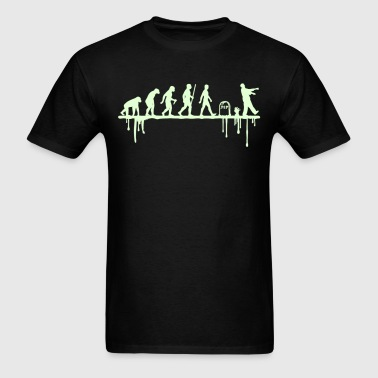 Evolution: Zombie - Men's T-Shirt