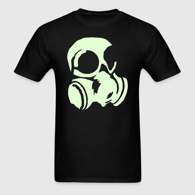 Soliders Chemical Warfare gas mask - Men's T-Shirt