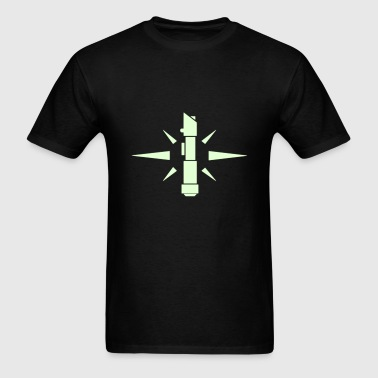 SWTOR Jedi Knight Class Logo 1-Color - Men's T-Shirt