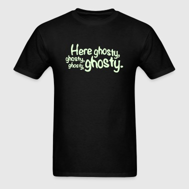 Here Ghosty Ghosty - Men's T-Shirt