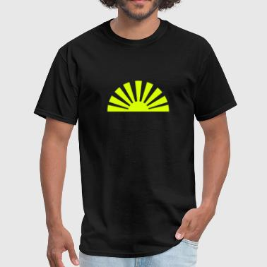 Japanese Sun - Men's T-Shirt