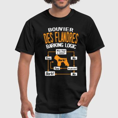 Bouvier des Flandres Barking Logic T-Shirt - Men's T-Shirt