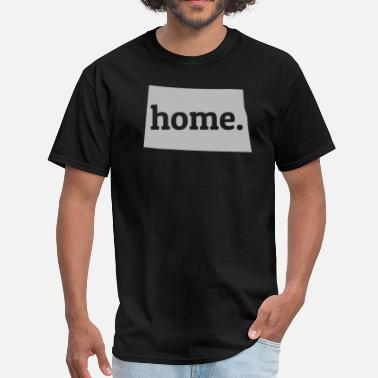 North Dakota North Dakota Is My Home T-Shirt - Men's T-Shirt