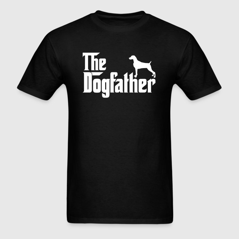 Weimaraner DogFather T-Shirt - Men's T-Shirt