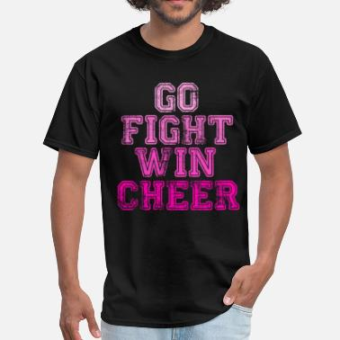 Fight Squad Go Fight Win Cheer - Men's T-Shirt