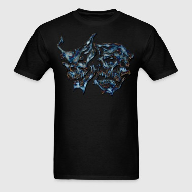 mask skull - Men's T-Shirt