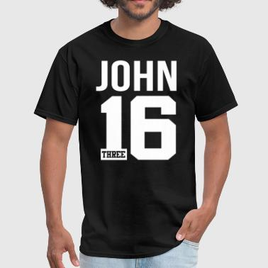 John 3:16 Bible Verse Scripture Quote - Men's T-Shirt
