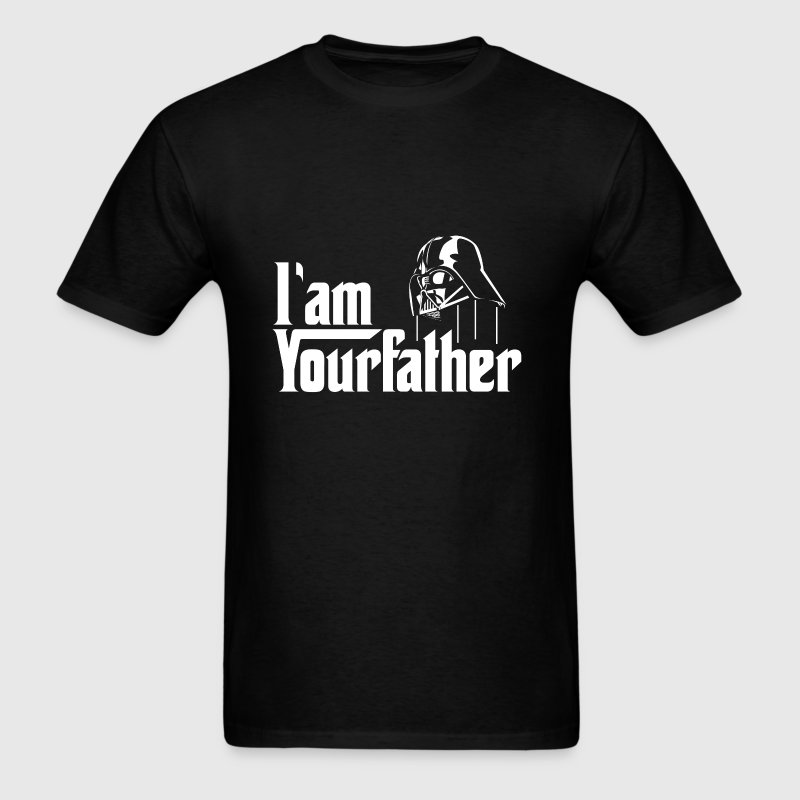 SKYF-01-030 Darth Vader iam your father - Men's T-Shirt