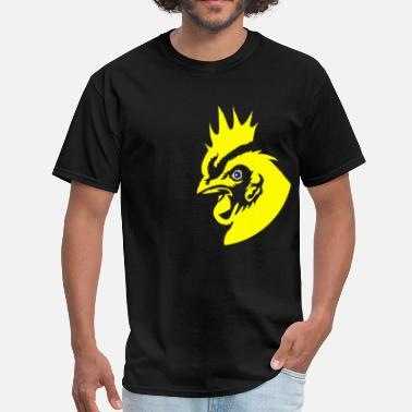 Rooster Fighting Rooster - Men's T-Shirt