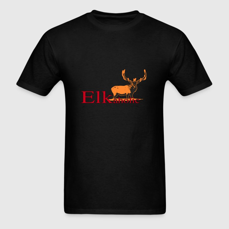 Elkaholic Bull - Men's T-Shirt