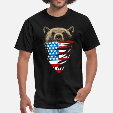 Grizzly Patriot - Men's T-Shirt