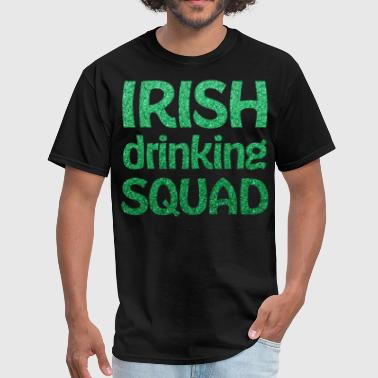 St Patricks Day Irish Drinking Squad - Men's T-Shirt