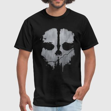 Black Ops skull art - Men's T-Shirt