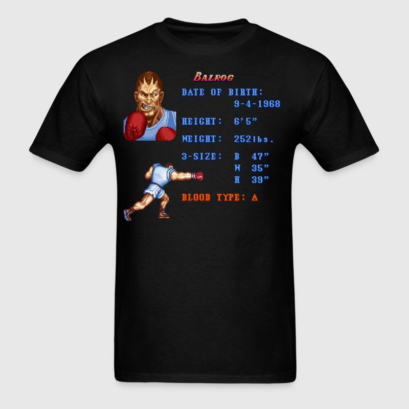 Balrog Stats - Men's T-Shirt
