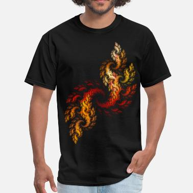 Graphic Art Effects fire - Men's T-Shirt