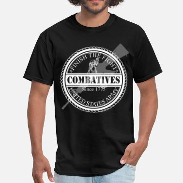 Army Combatives Finish The Fight Army Combatives Design - Men's T-Shirt