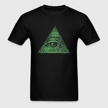 Illuminaty minimalist - Men's T-Shirt