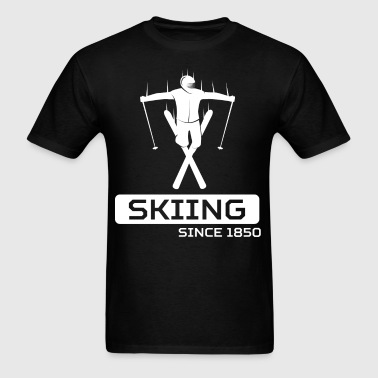 Skiing Since 1850 Extreme Skier - Men's T-Shirt