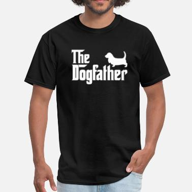 Hound Basset Hound DogFather T-Shirt - Men's T-Shirt