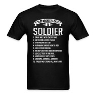 Reasons to date a soldier