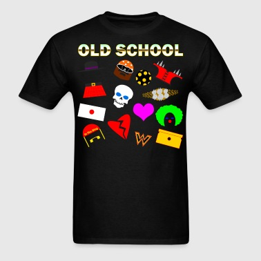 Old School In The Ring Shirt - Men's T-Shirt
