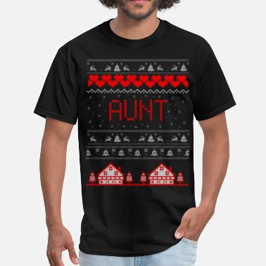 31st Dec Aunt Ugly Christmas Sweater - Men's T-Shirt
