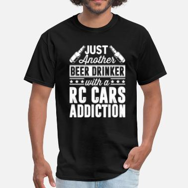 Addicted Cars Beer & RC Cars Addiction - Men's T-Shirt