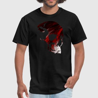 Blood Red Skull Blood Skull - Men's T-Shirt
