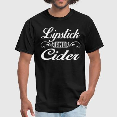 Lipstick and Cider - Men's T-Shirt
