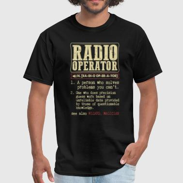Ham Radio Radio Operator Badass Dictionary Term T-Shirt - Men's T-Shirt